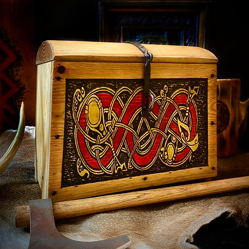 Norse/Viking Inspired Chest