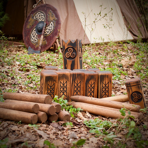 Viking Chess - Kubb Set Yard Game