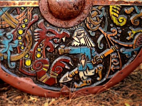Custom Viking Inspired Shields