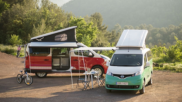 Campers RV protected by Ghasmo gas detector system