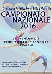 Campionato nazionale Csen 2016