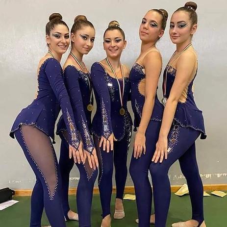1° prova del campionato Italiano di ginn