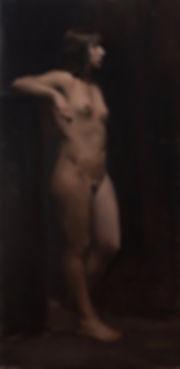 contemporary figure painting long pose at barcelona academy of art taught by jordi diaz alama gerard castellvi gasco
