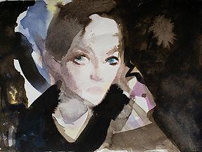 Evil Me, Simone Rudolph, Painting