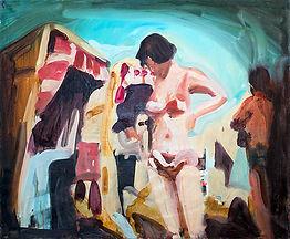 Ulla, 100 x 120 cm, Öl auf Leinwand