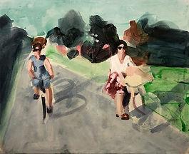 Radfahrerinnen, Simone Rudolph, Super 8