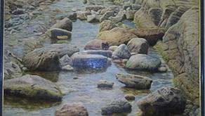 長崎県美術協会展          田川日出勝画伯『春潮』に感動しました。