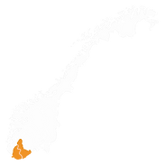 Norway_Regions_Sørlandet_Position_Orange