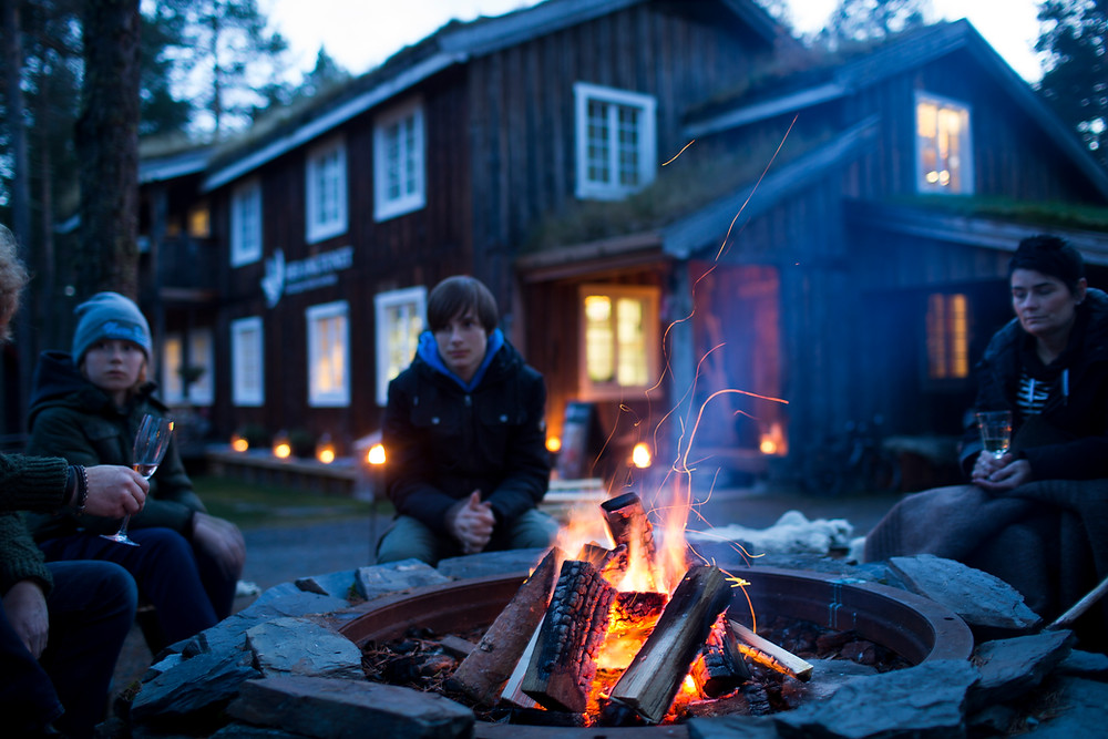 Campfire in Norway
