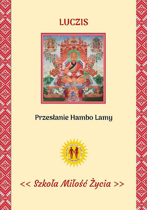 Przesłanie Hambo Lamy