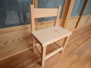 木曾ひのき  child chair