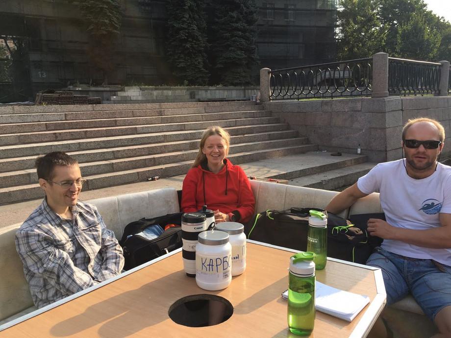 По следам Игоря Гончаренко: до Кронштадта вплавь без гидрокостюма.