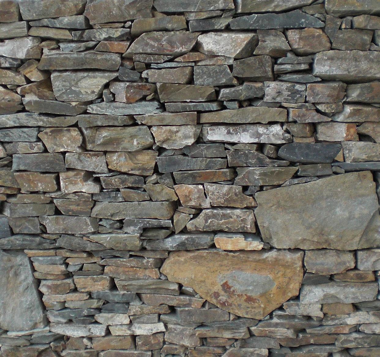 Muros de contenci n prefabricados r sticos armados - Muro de piedra natural ...