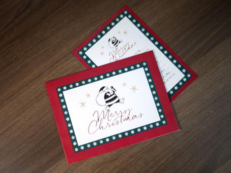 あわてんぼうのクリスマスカード