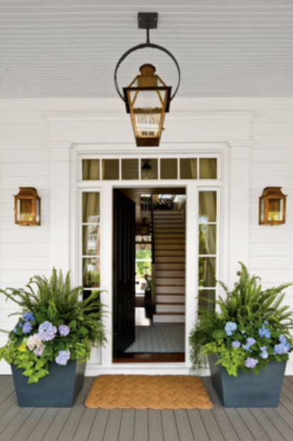 Front Entry Planters