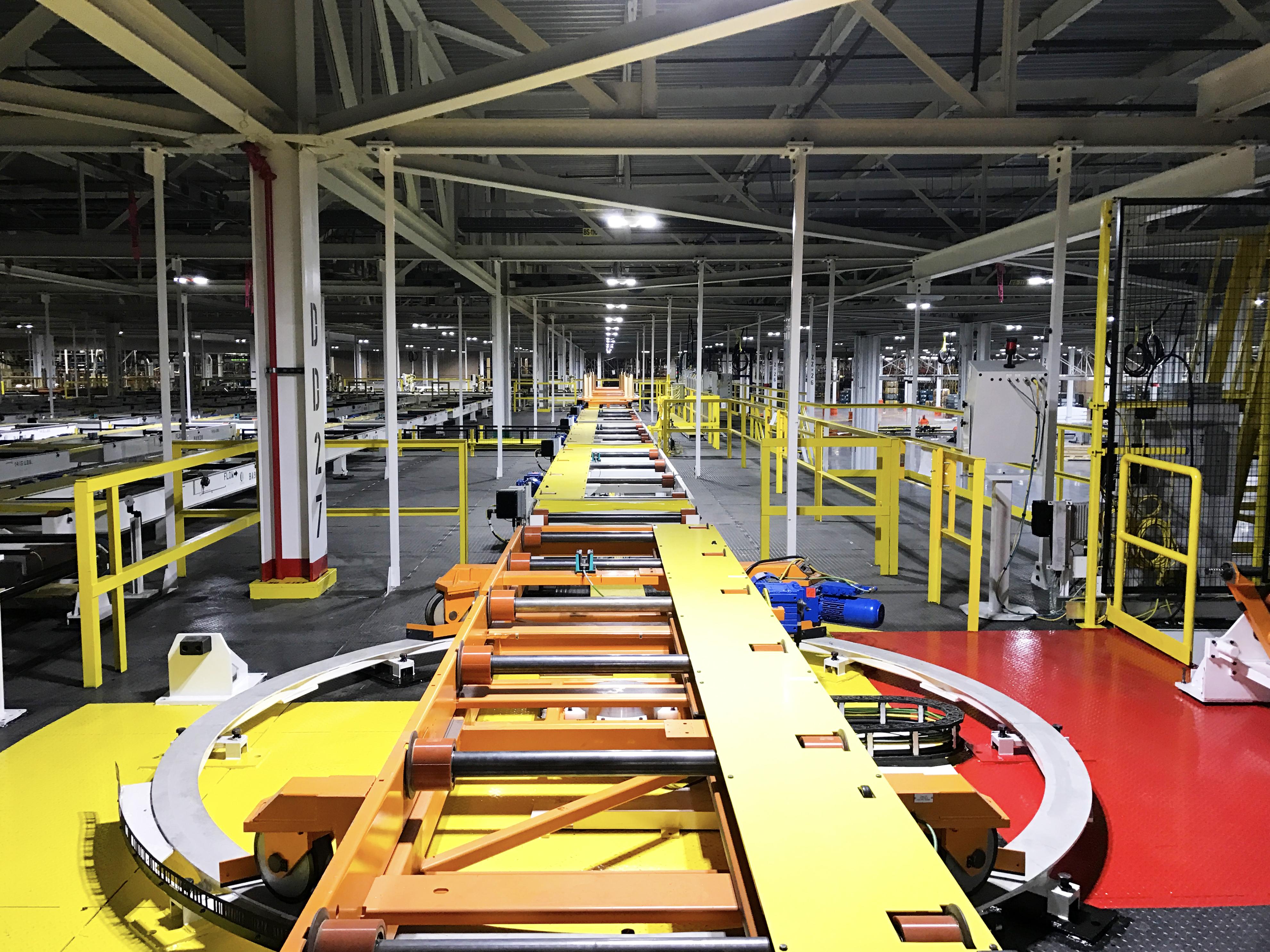 Automotive Conveyor/Mezzanine