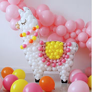 Llama_digital_BALLOON_MOSAIC™_design_tem