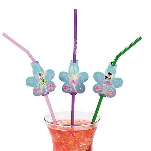 Ballerina Fairy Straws with Cutout