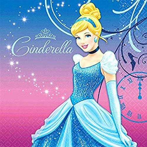 Cinderella Beverage & Luncheon Napkins
