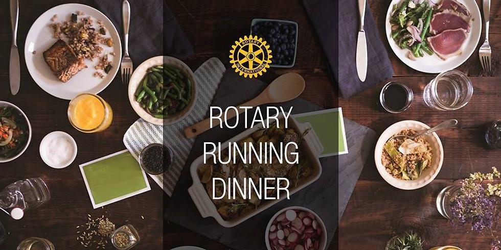 Rotary Running Dinner