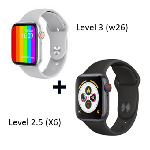 Combo Deal Smart Watch (Level 3 and Level 2.5)