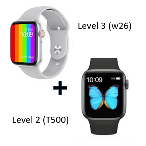 Combo Deal Smart Watch (Level3 and Level 2)
