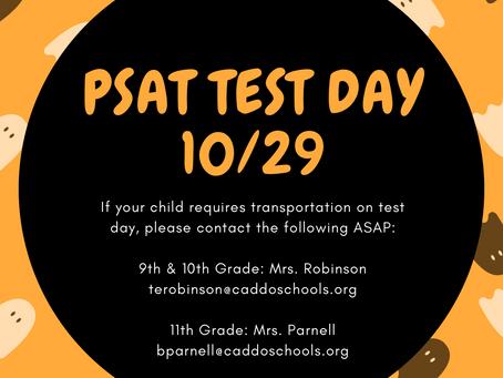 Transportation for PSAT