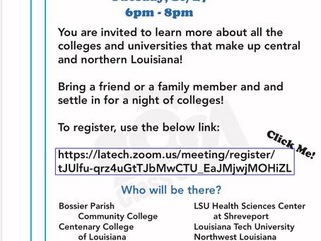 Louisiana Virtual College Fair