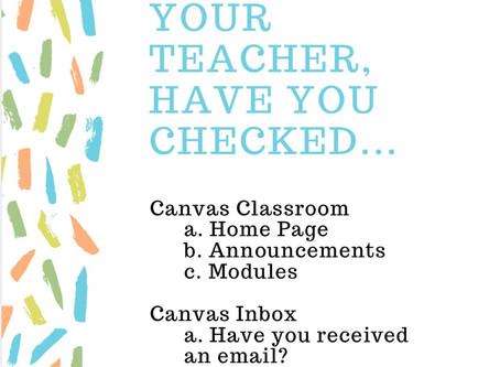 Resources Checklist