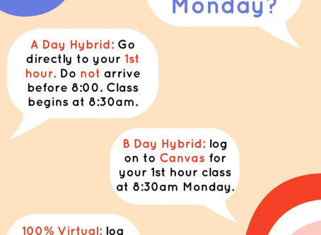 Start of School Info