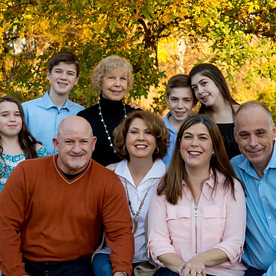 Lorri Foley Fall Family Pictures