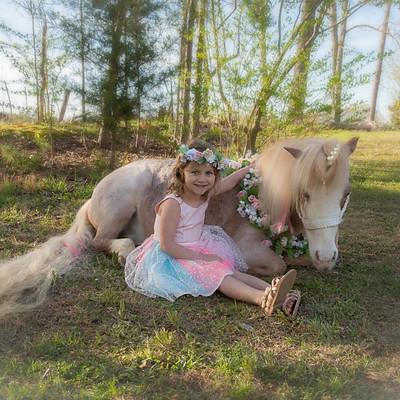 Chelsey Marie Unicorn Session