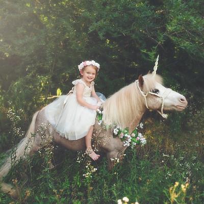 Megan Arnold Unicorn Session