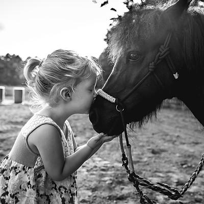 Kassidy with Pony