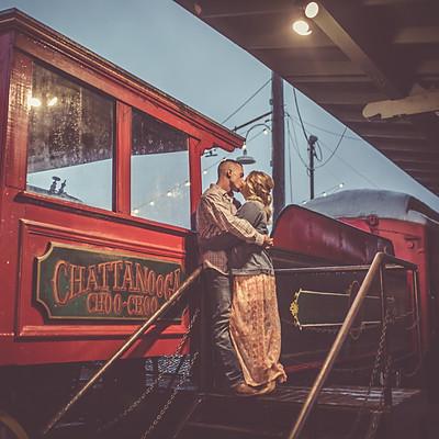 Chattanooga Choo Choo Engagement