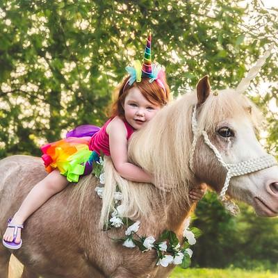 Miranda Kay Coffey Unicorn Session