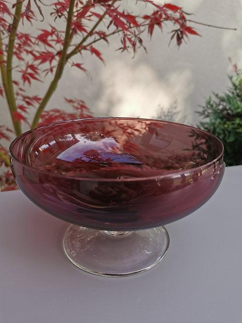 Petite coupe rose violine, 10 cm