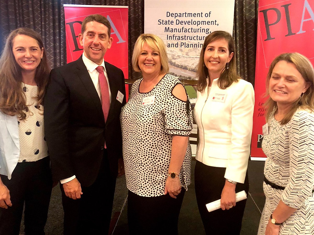 Kirsty Kelly, Minister Cameron Dick, Dyan Currie, Judge Kefford, Jenny Roughan