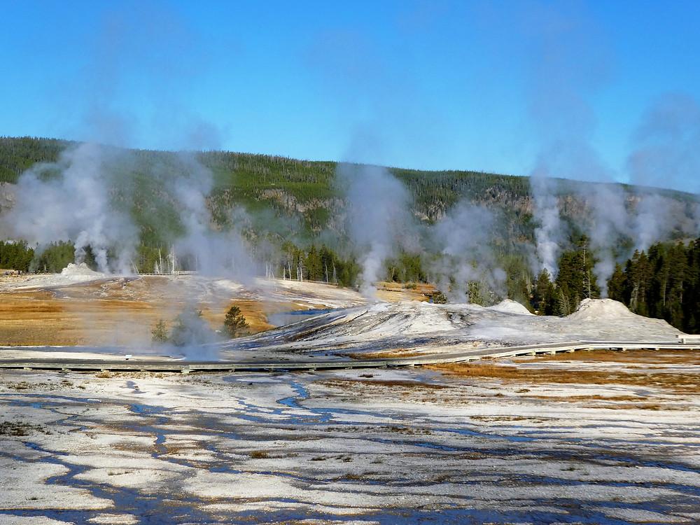 Michelle Audette, Yellowstone National Park