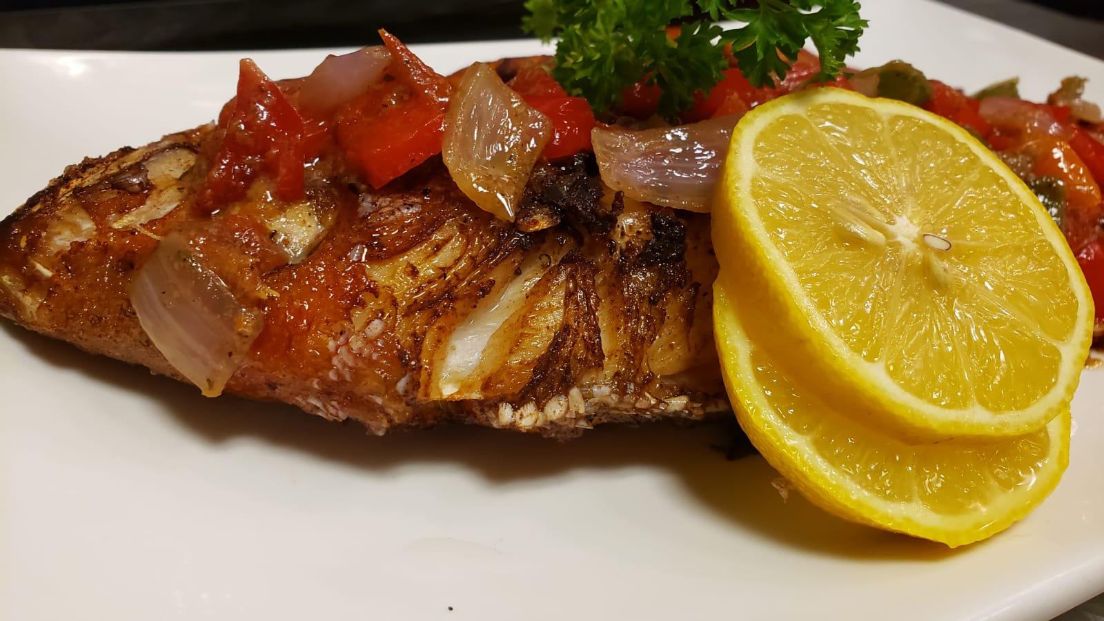 Full Fish Platter