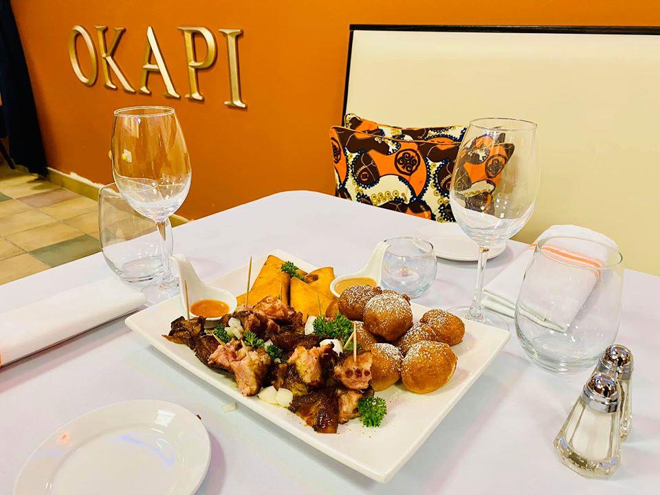 Okapi Appetizers Platter