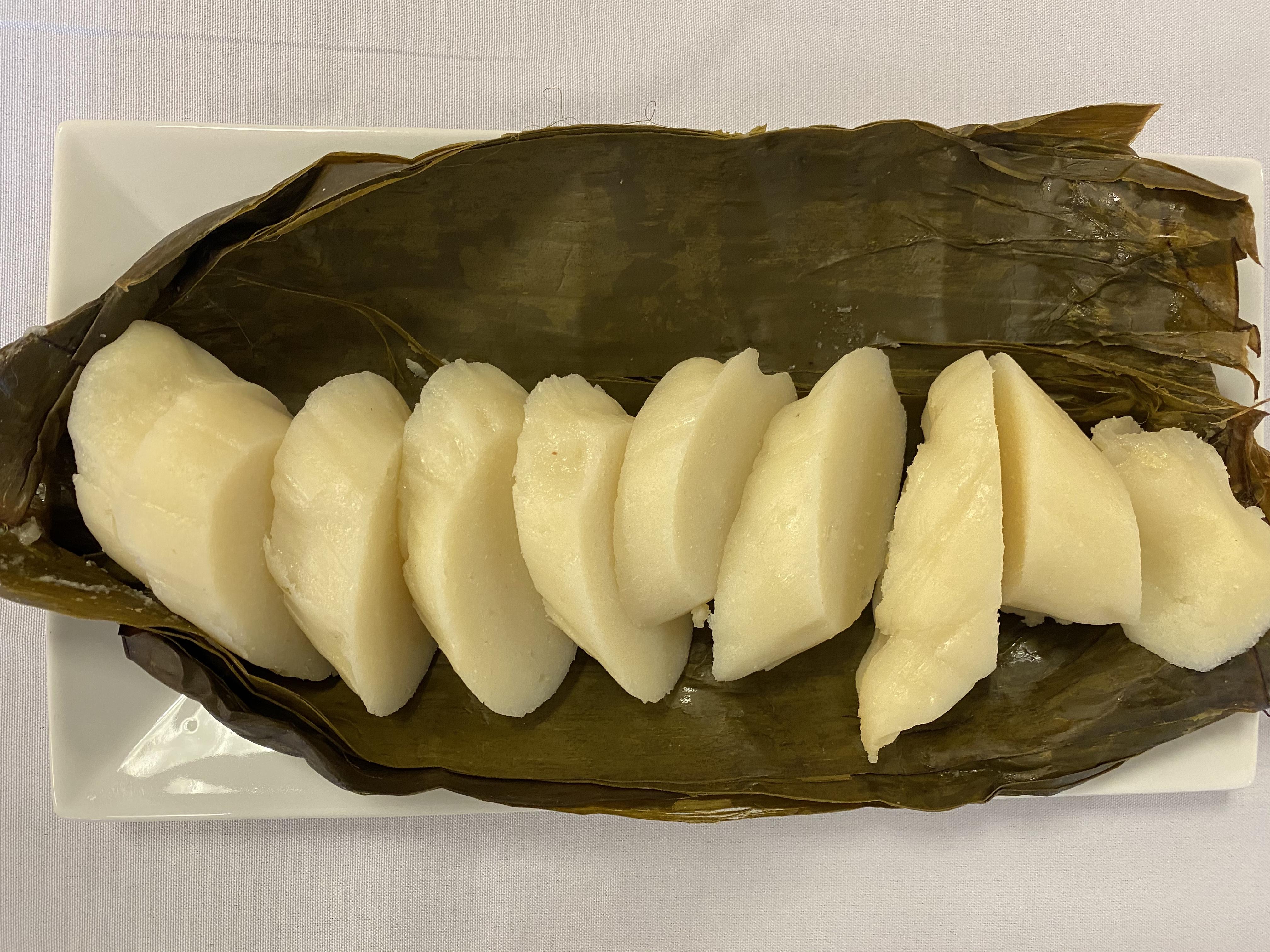 Kwanga (Hard, cooked cassava flour)