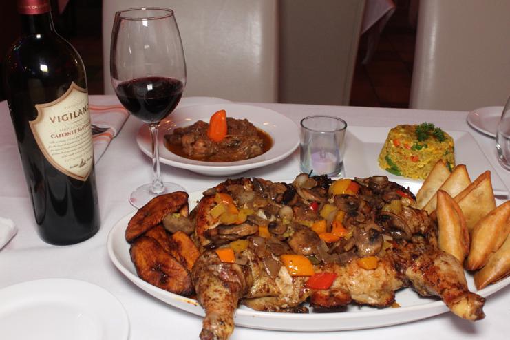 Full Chicken Platter