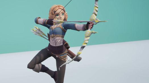 Zelda Spin Shot