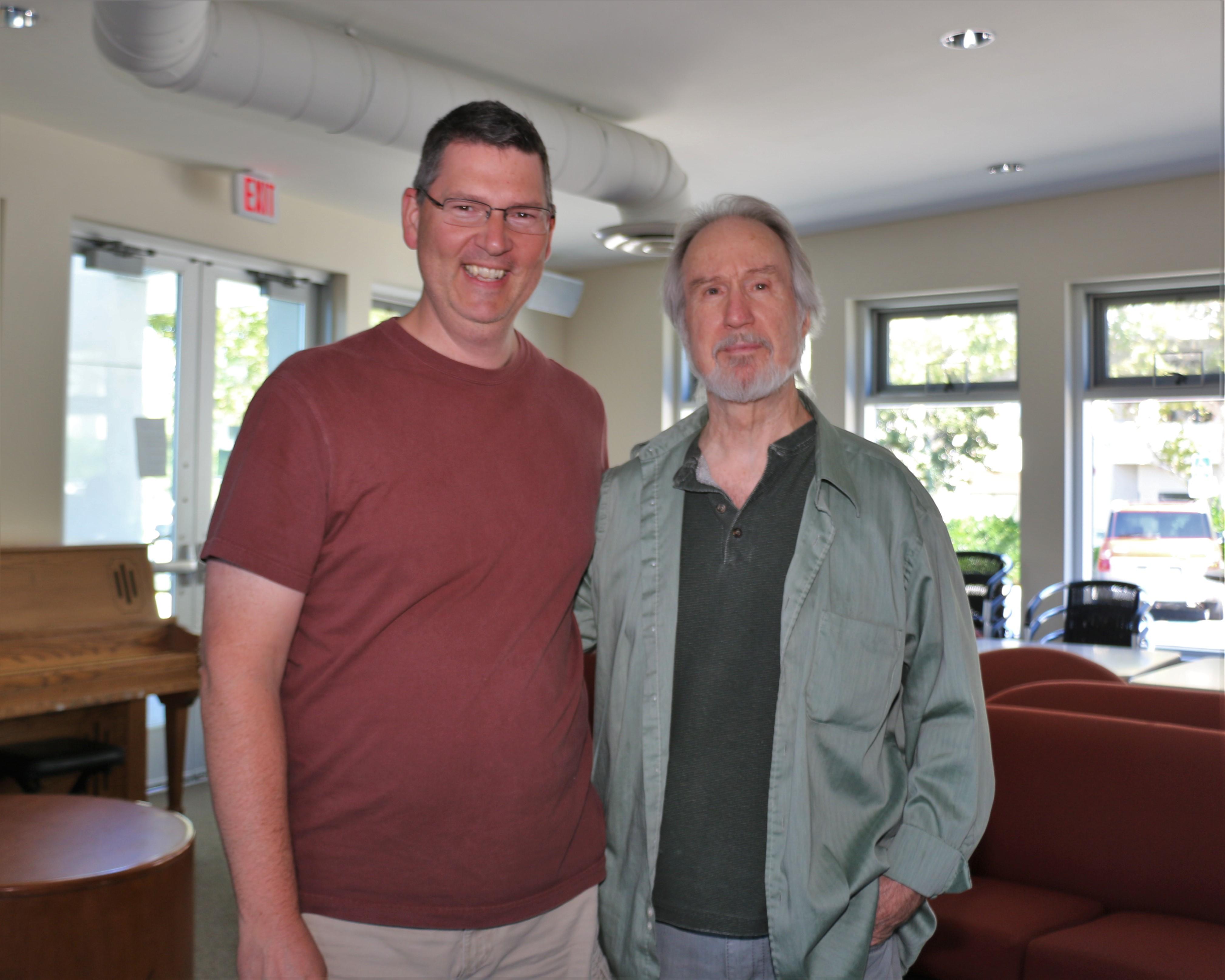 With Emmett Chapman
