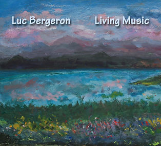 Living Music Front Cover finished painti
