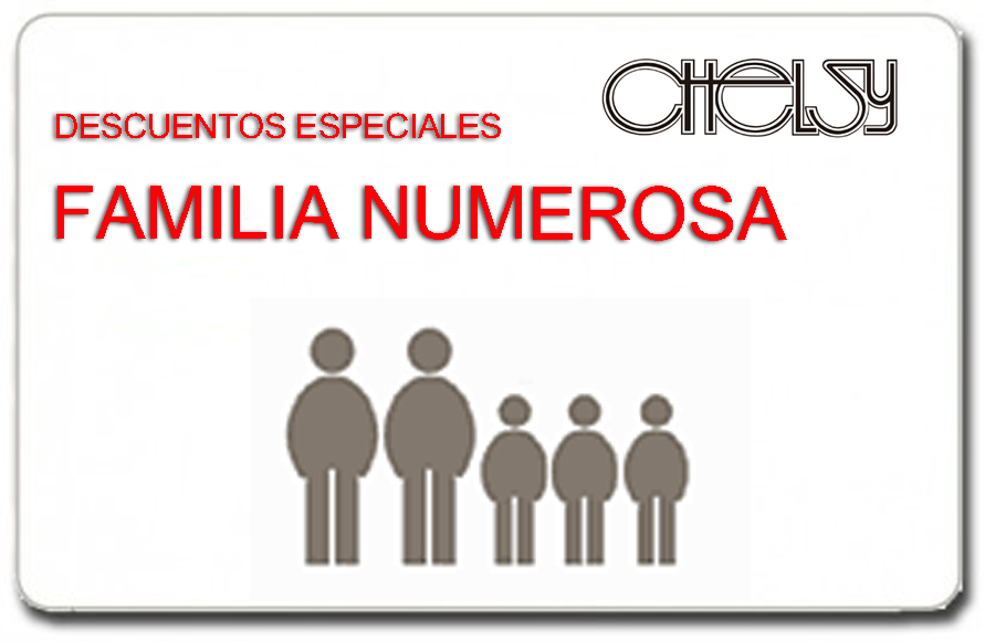DECUENTOS A FAMILIA NUMEROSA