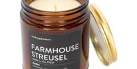 Farmhouse Streusel Amber Tumbler Candle
