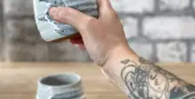 Cocktail Cup - Brushstroke