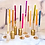"""Thumbnail: Neutrals 10"""" Spiral Beeswax Candles - 2 Pack - Wine"""